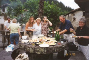 Corn Talos and Cider in Zubieta in the Pyrenees