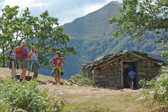 Shepherds Hut near the Vulture Breeding Grounds of Itxusi
