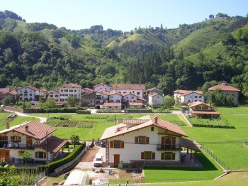 Our village of Ituren in the Spanish Pyrenees
