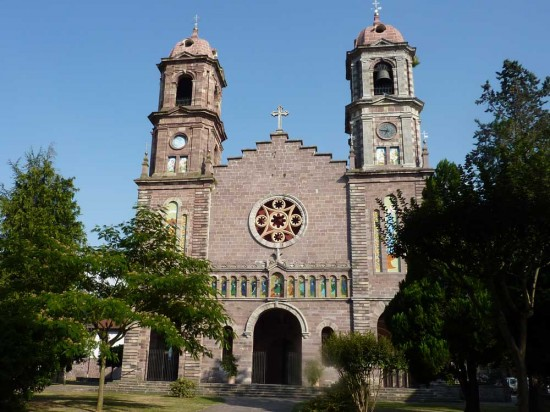 Parish church in Elizondo