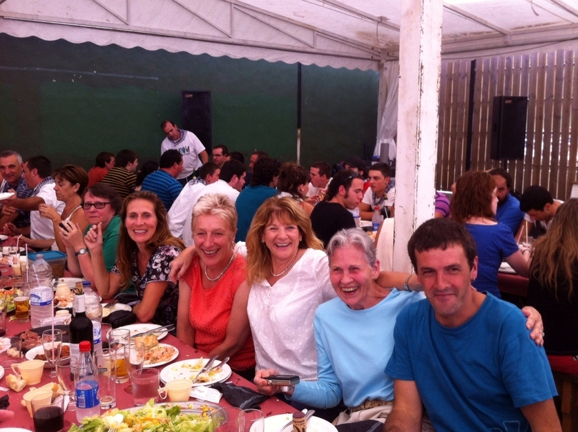 Basque food and culture and a lot more as we join my neighbours at our village feast.