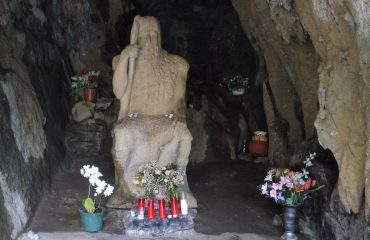 Basajaun in the cave of San Juan Xar