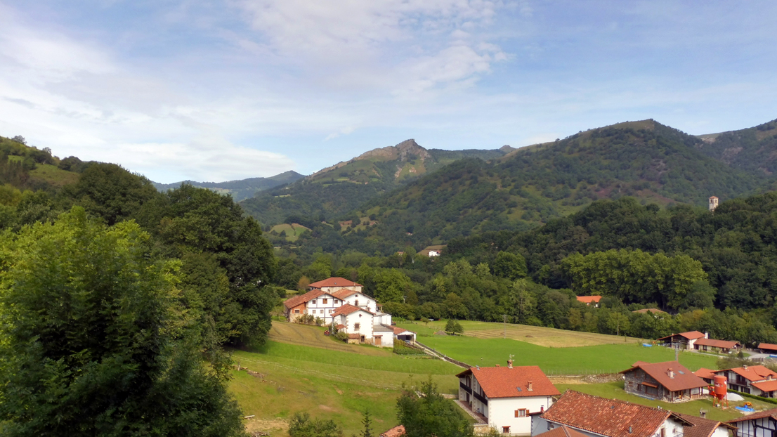 Village walks in the Basque Country
