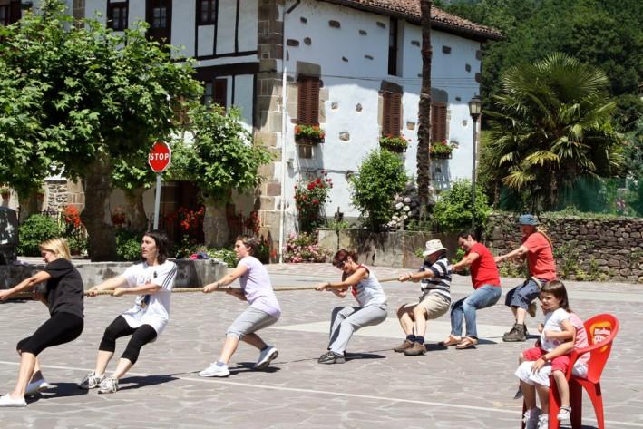 Summer sports day at Ituren village school