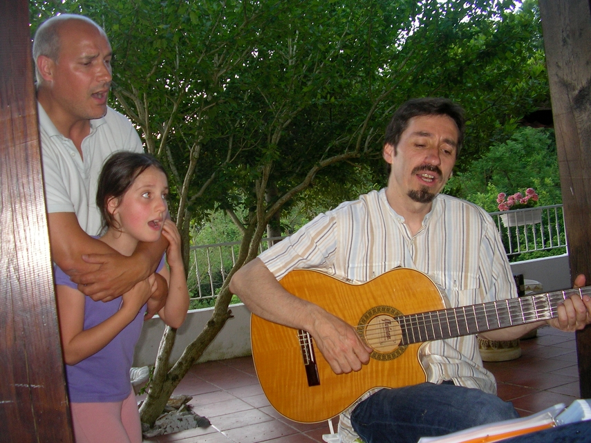 Iñaki, Marion and Edorta
