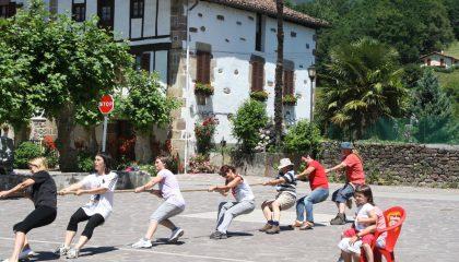 Village school sports day