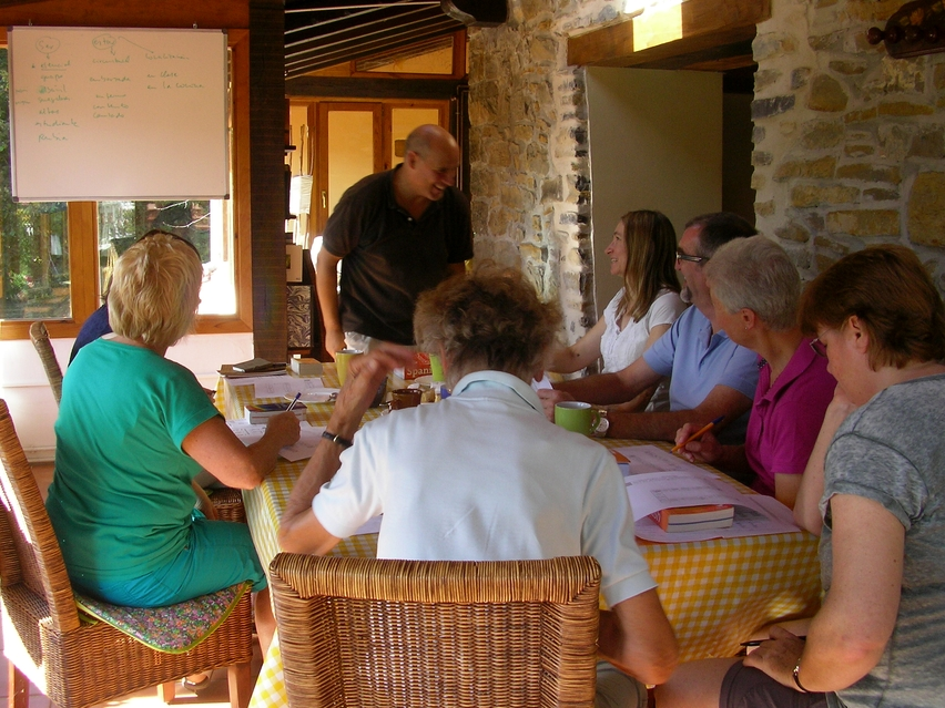 Professionally run immersion Spanish courses in Spain in idyllic surroundings