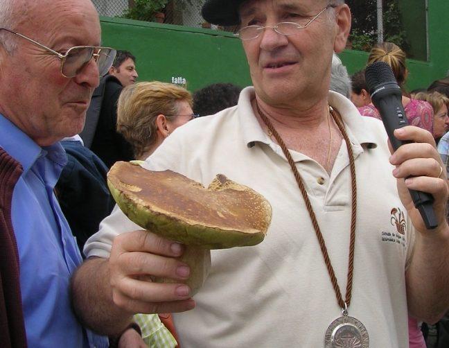 The winning 'hongo' in Elgorriaga