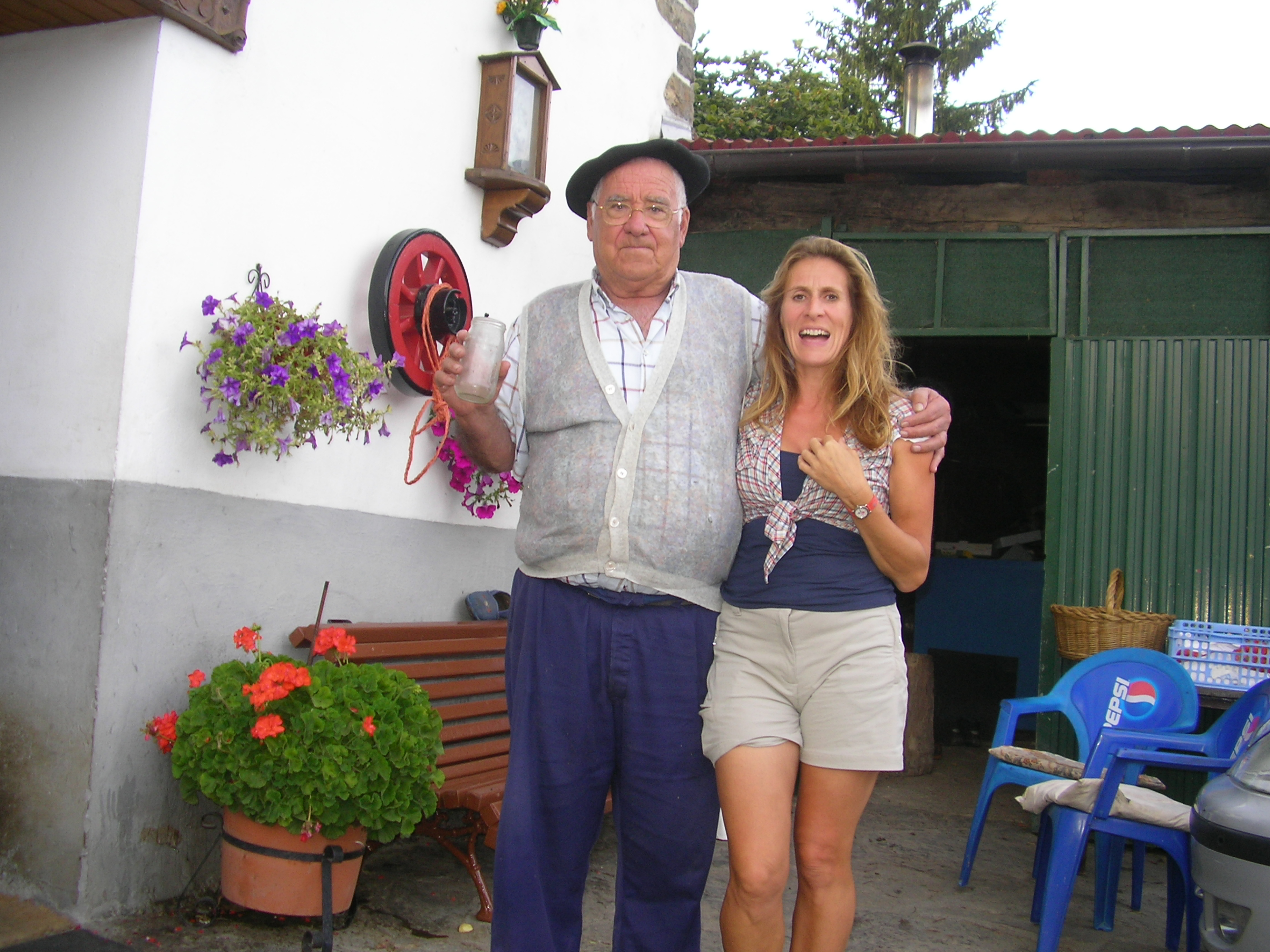 Talking with a Basque grandad