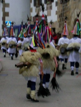 Ituren carnival: The Joaldunak follow in the footsteps of their ancestors 1000's of years ago.