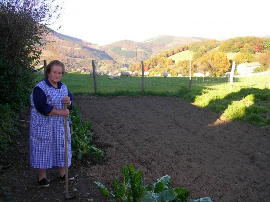 Ituren Grandmother Ameztia 550x412 - The importance of 'work' in the Basque Culture