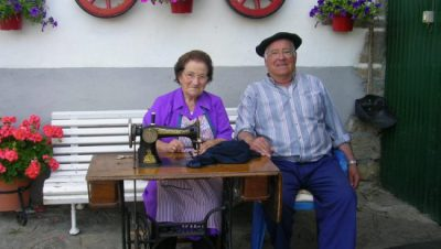 The Basque grandparents on the neighbouring farm
