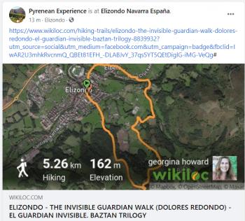 Dolores redondo walking tours pyrenean experience