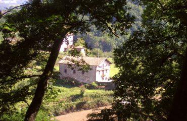 Approaching Elizondo in the Baztan Valley