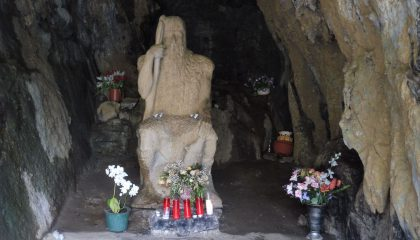 Basajaun in the cave of San Juan Xar