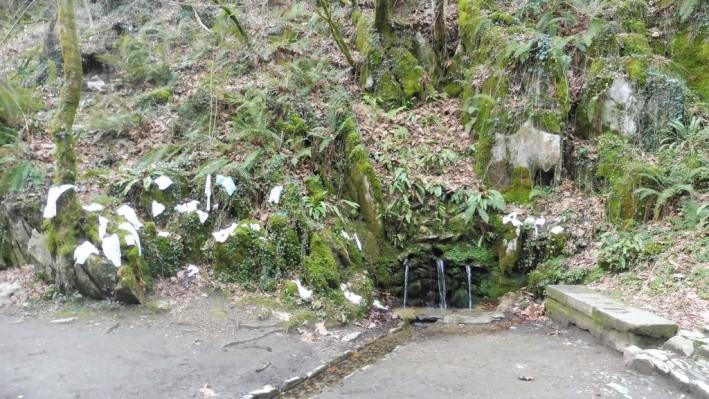 Healing springs of San Juan Xar