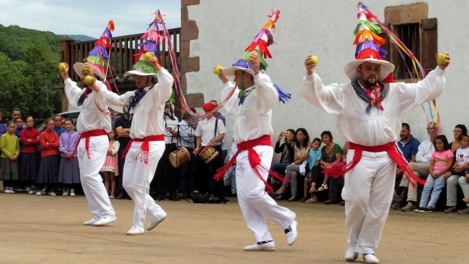 Basque fiestas - Amaiur