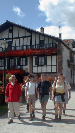 Spanish and Walking Holidays in the Baztan Valley