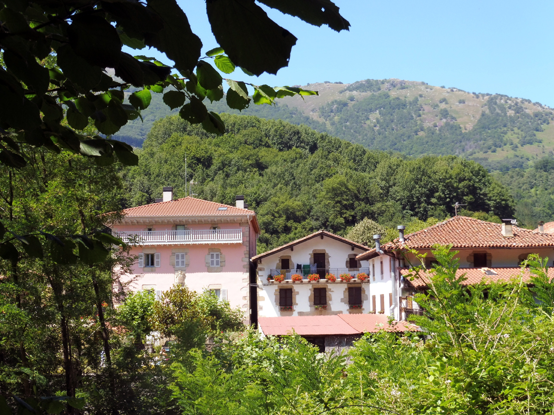 Ituren Village in the Pyrenees