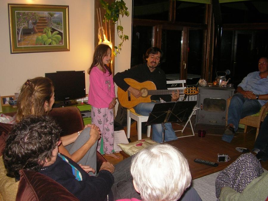 Marion singing