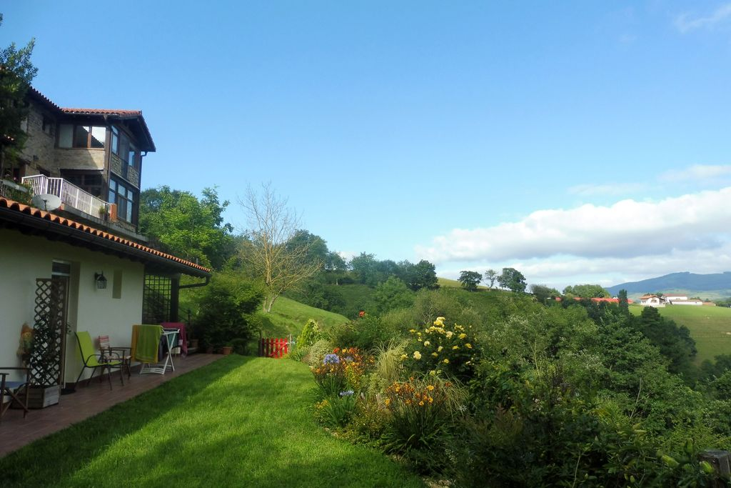 Garden views at Pyrenean Experience