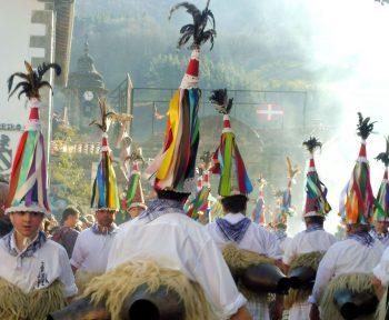 Pagan Basque Festival in Zubieta
