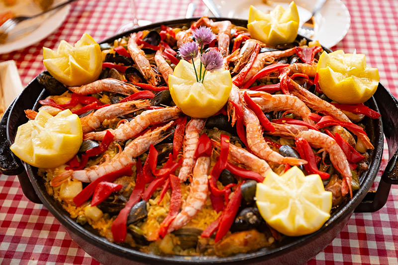 Spanish holiday food