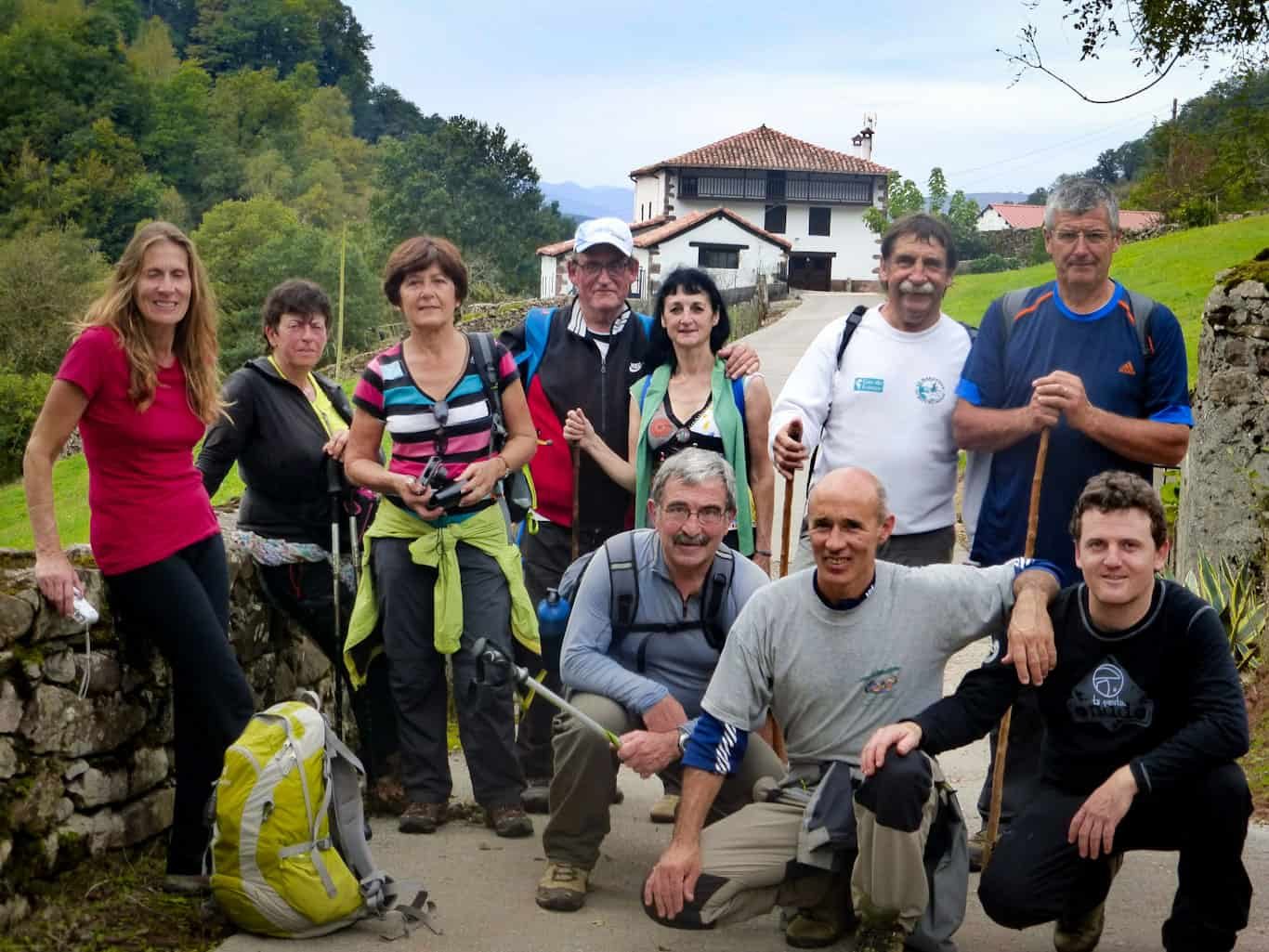 Walking the Pyrenees escape lines with friends and relatives of the Basque resistance