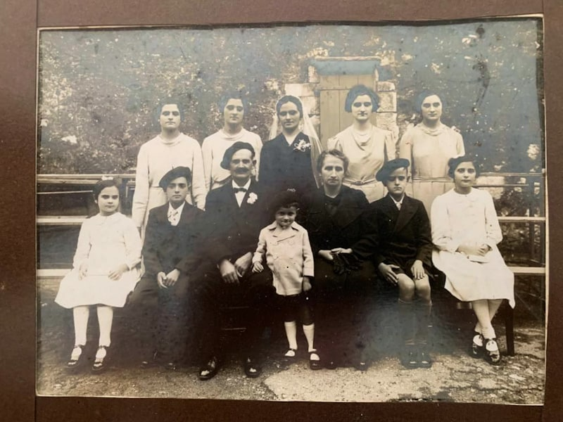 The Larretche family from the safe house Jatxou Baita in Urrugne