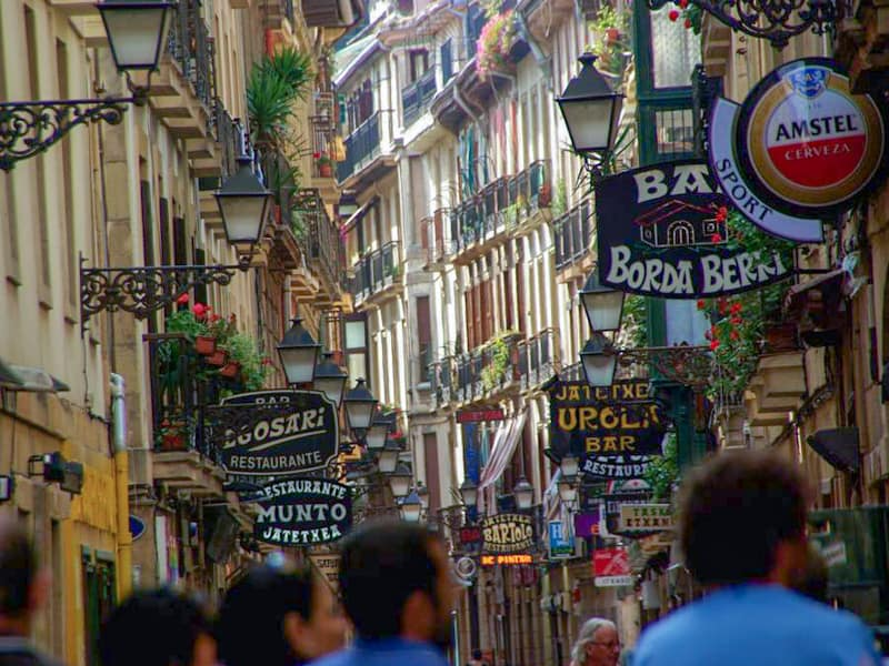 San Sebastian and home to members of the Comet Line resistance movement - Pyrenean Experience