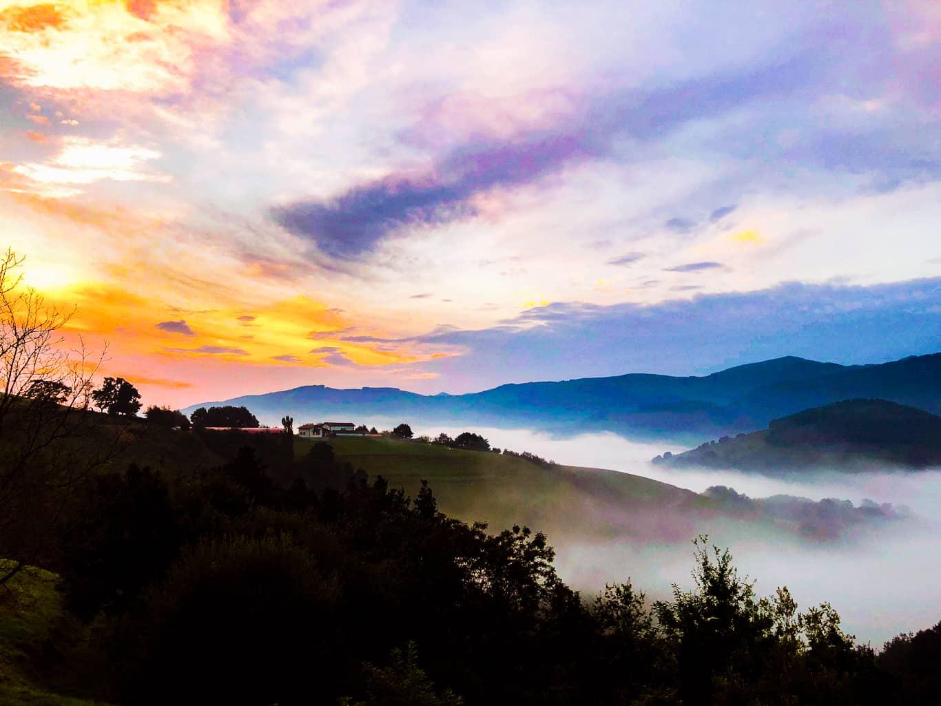 Baztan Valley at Dawn - pyreneanexperience.com