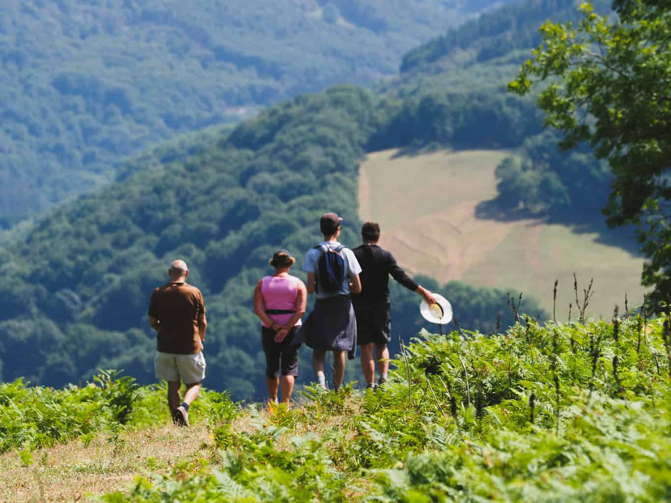 Walking in the Pyrenees sound-of-music trail