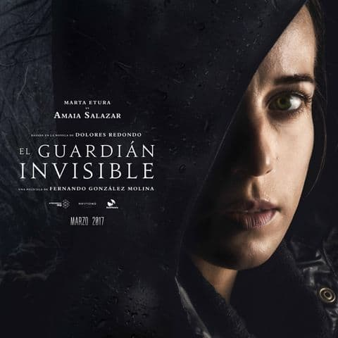 Primer poster de El guardian invisible - The Baztan Trilogy, Dolores Redondo - are we ready?