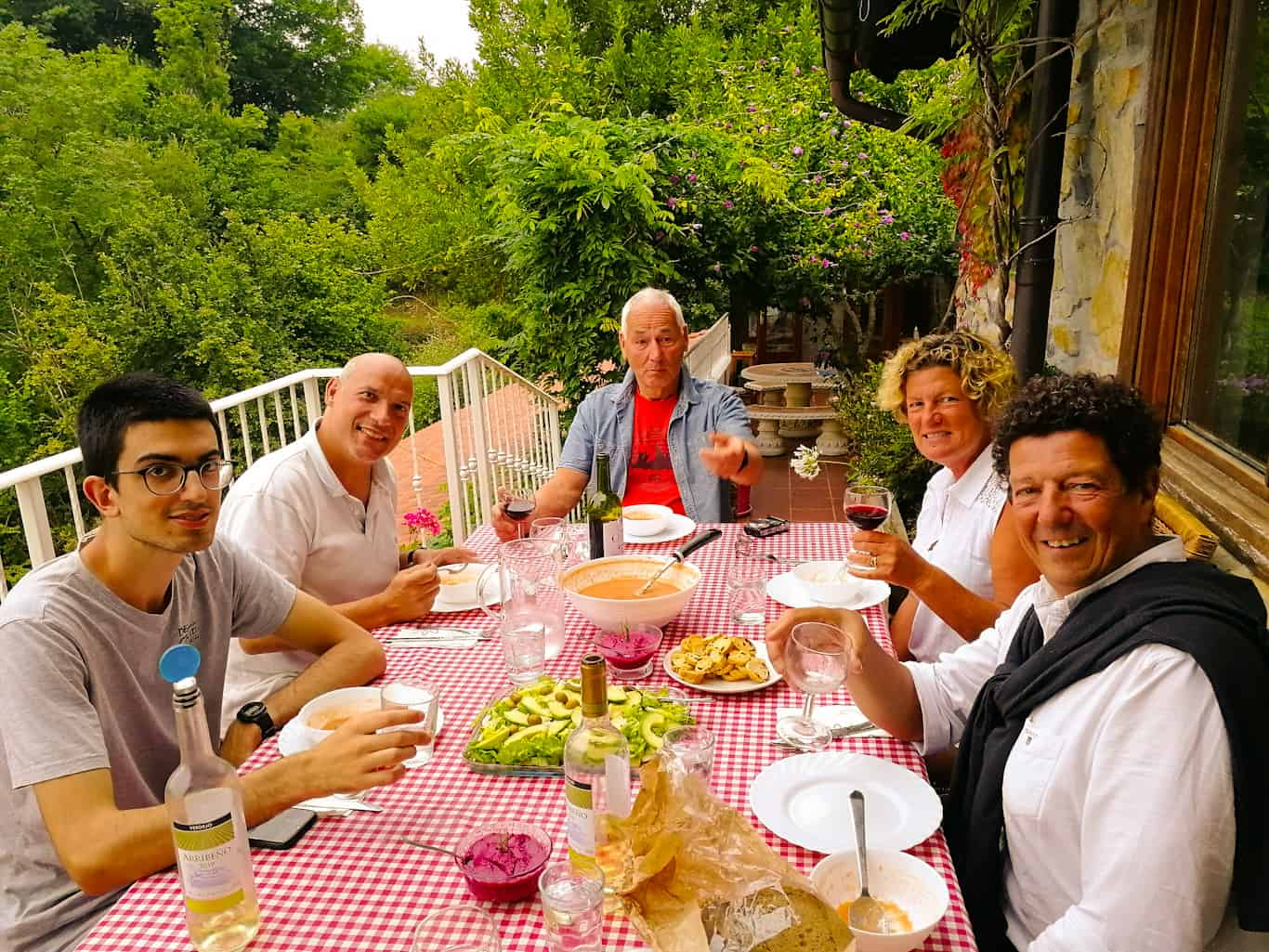 Spanish Dinner party in Navarre