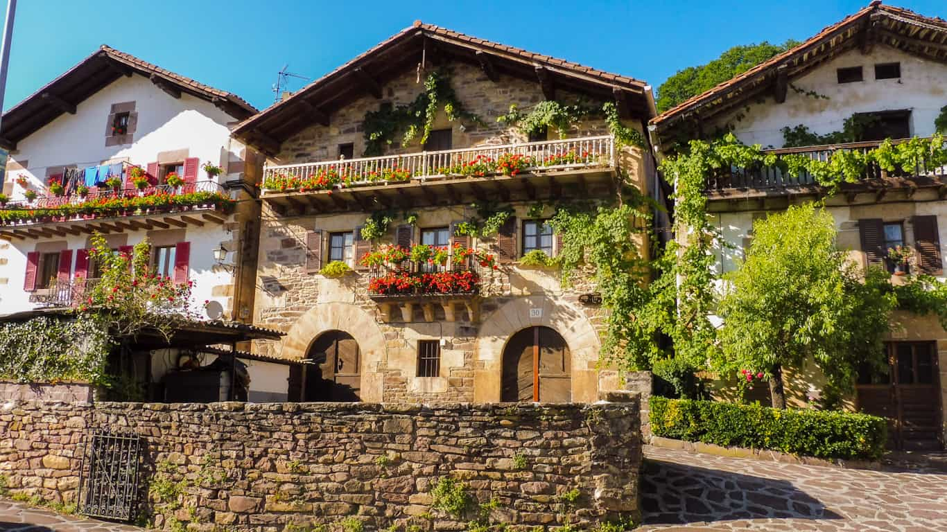 Basque architecture in the Pyrenees