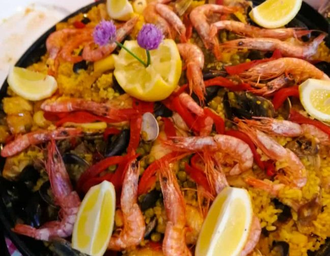 paella at the Pyrenean Experience